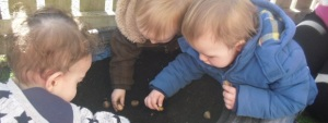 Children at Happy Days Nursery in Dundee, from their website