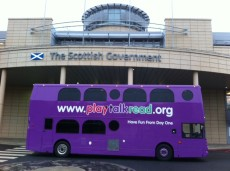 Scottish Government's Play Talk Read Bus
