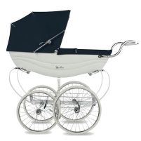 A traditional Silver Cross pram